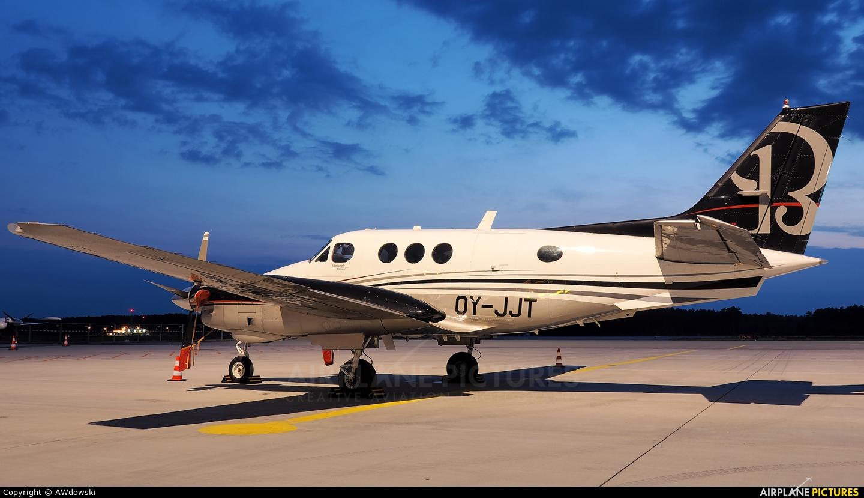 Private OY-JJT aircraft at Olsztyn Mazury Airport (Szymany)