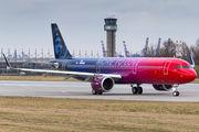D-AZAH - Alaska Airlines Airbus A321 NEO aircraft