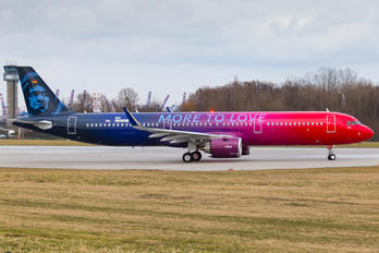 D-AZAH - Alaska Airlines Airbus A321 NEO