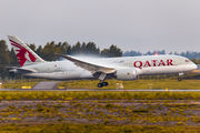 A7-BCR - Qatar Airways Boeing 787-8 Dreamliner aircraft
