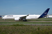 F-WZGO - Lufthansa Airbus A350-900 aircraft