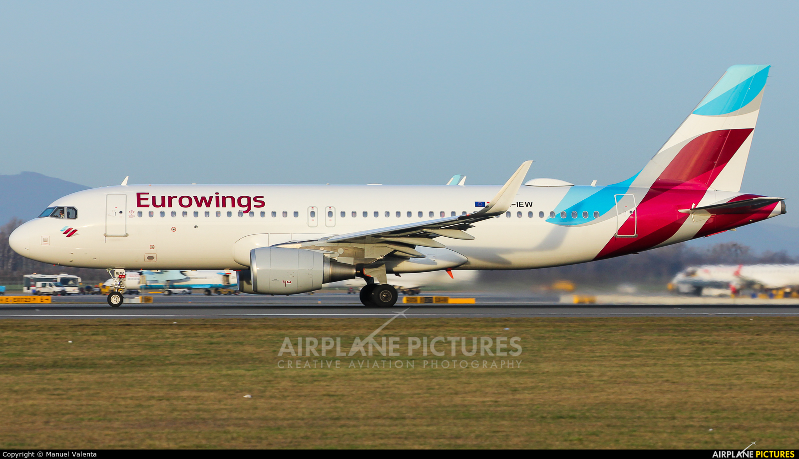 Eurowings Europe OE-IEW aircraft at Vienna - Schwechat