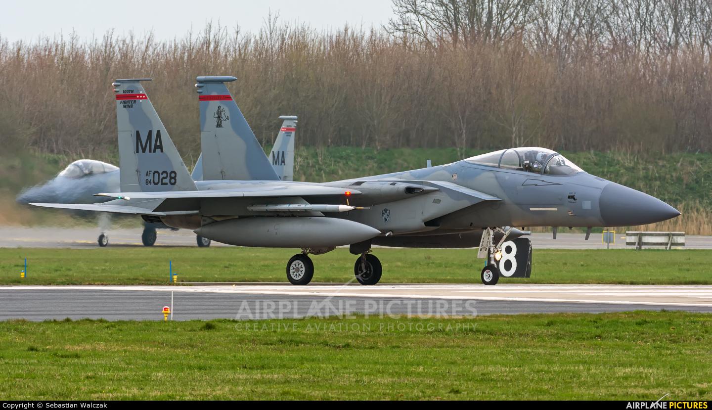 USA - Air Force 84-0028 aircraft at Leeuwarden