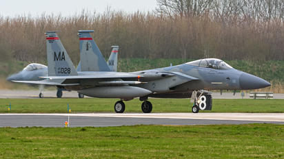 84-0028 - USA - Air Force McDonnell Douglas F-15C Eagle