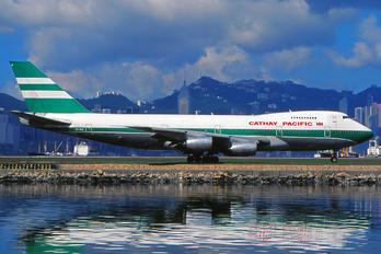 VR-HIBD - Cathay Pacific Boeing 747-200