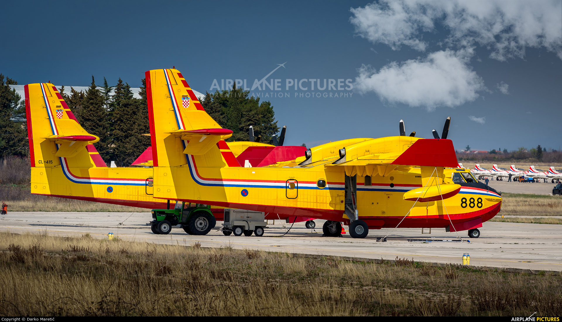 Croatia - Air Force 844 aircraft at Zadar