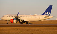 SE-ROB - SAS - Scandinavian Airlines Airbus A320 NEO aircraft