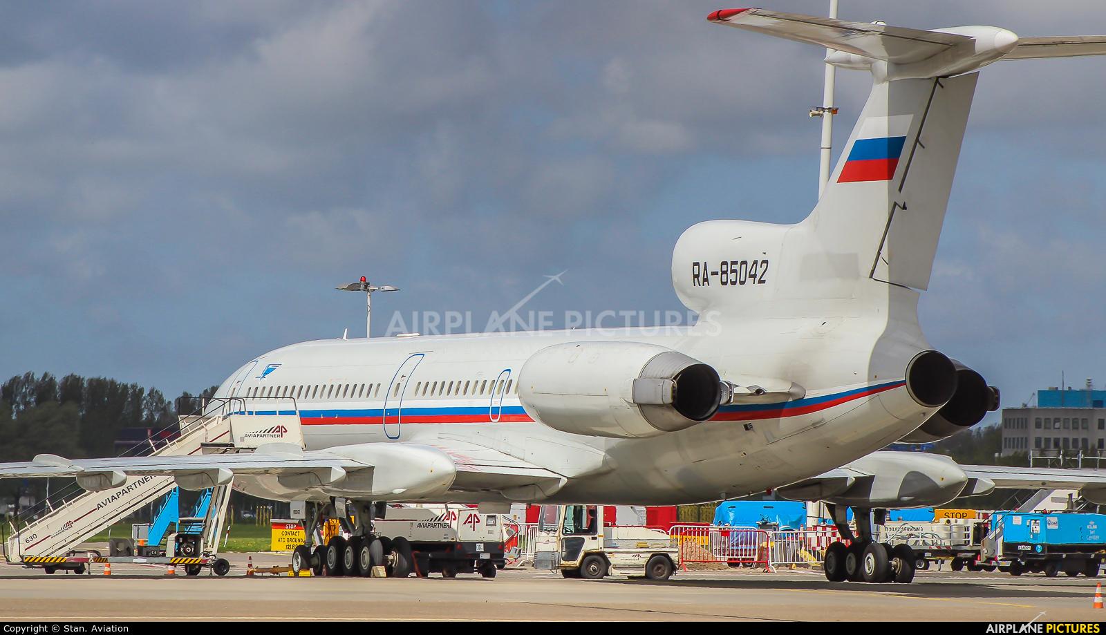 Russia - Air Force RA-85042 aircraft at Amsterdam - Schiphol