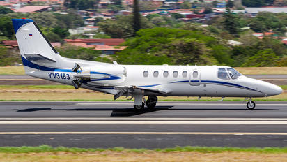 YV3183 - Private Cessna 550 Citation II