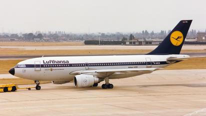 D-AICA - Lufthansa Airbus A310