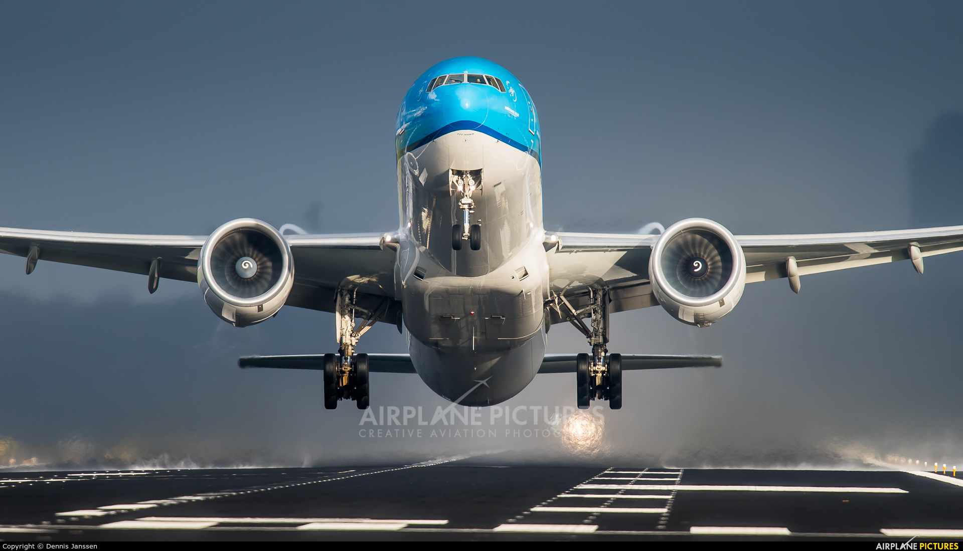 KLM PH-BVR aircraft at Amsterdam - Schiphol