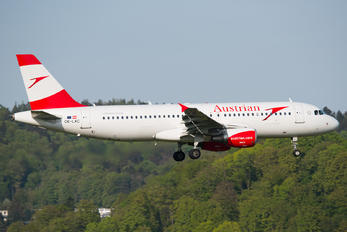OE-LXC - Austrian Airlines/Arrows/Tyrolean Airbus A320
