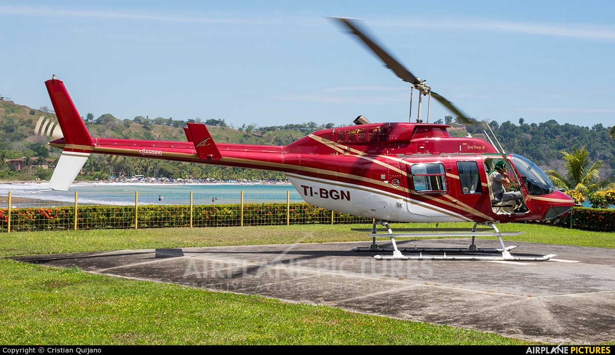 Private TI-BGN aircraft at