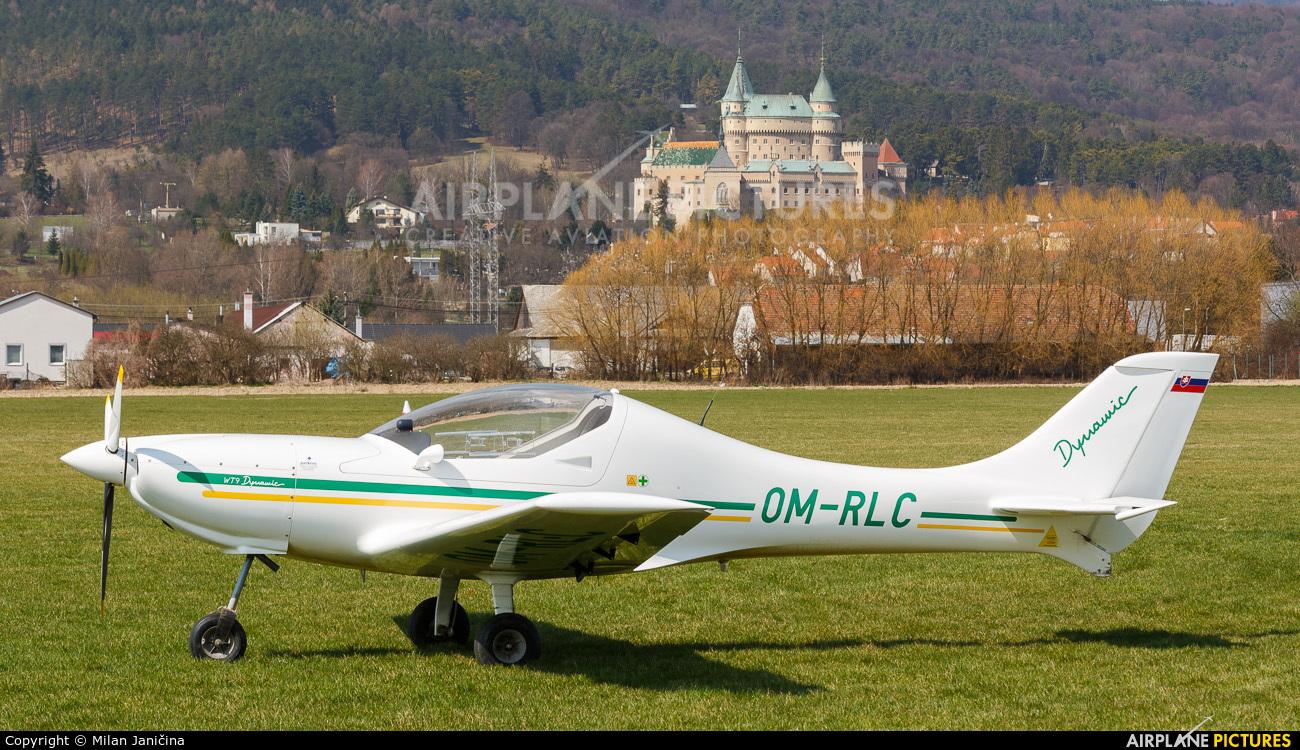 Slovensky Narodny Aeroklub OM-RLC aircraft at Prievidza