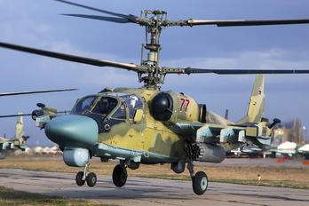 77 - Russia - Navy Kamov Ka-52 Alligator