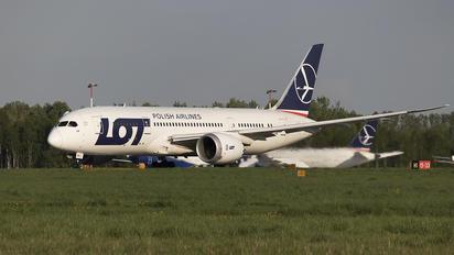 SP-LRB - LOT - Polish Airlines Boeing 787-8 Dreamliner