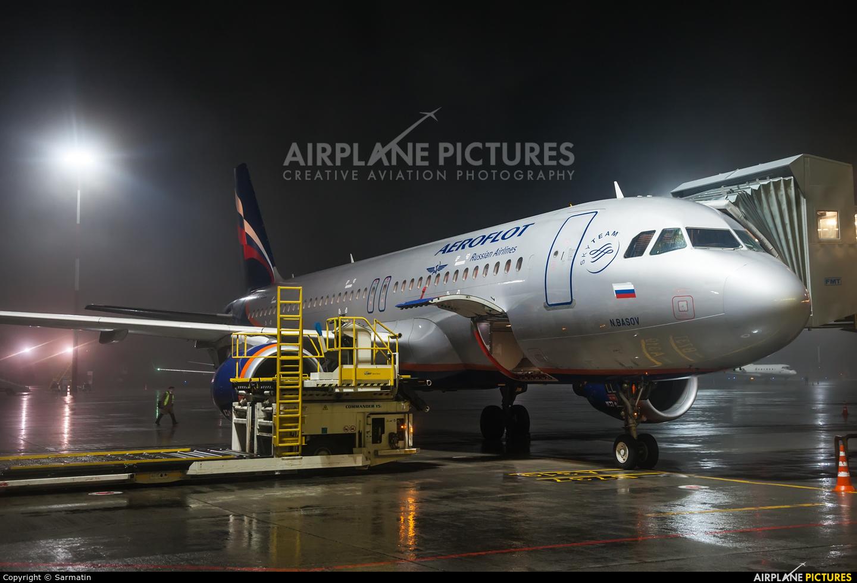 Aeroflot VP-BLL aircraft at Kazan