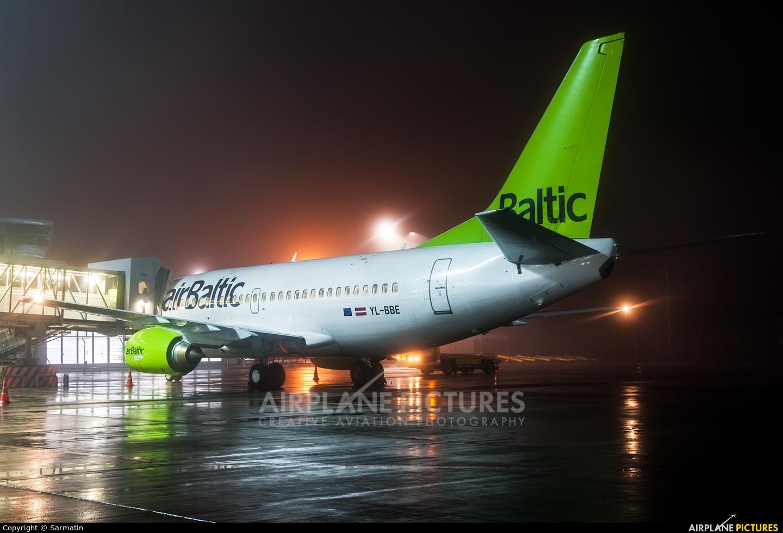 Air Baltic YL-BBE aircraft at Kazan