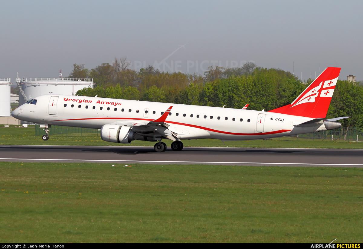 Airzena - Georgian Airlines 4L-TGU aircraft at Brussels - Zaventem