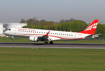 4L-TGU - Airzena - Georgian Airlines Embraer ERJ-190 (190-100)