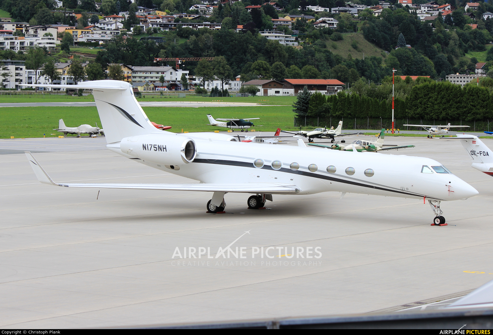 Avpro Inc. N175NH aircraft at Innsbruck