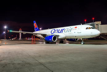TC-ODA - Onur Air Airbus A320
