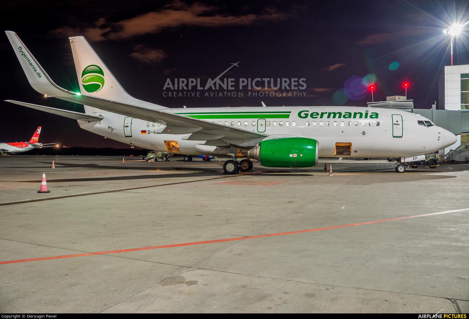 Germania D-AGER aircraft at St. Petersburg - Pulkovo