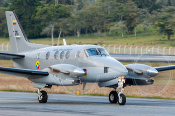 FAC5759 - Colombia - Air Force Beechcraft 90 King Air