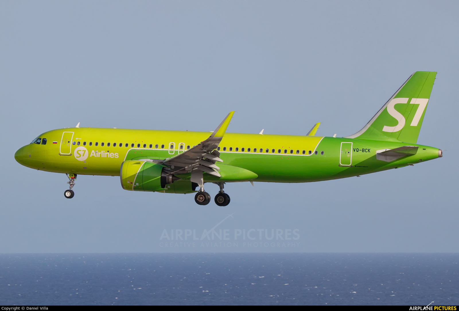 S7 Airlines VQ-BCK aircraft at Tenerife Sur - Reina Sofia