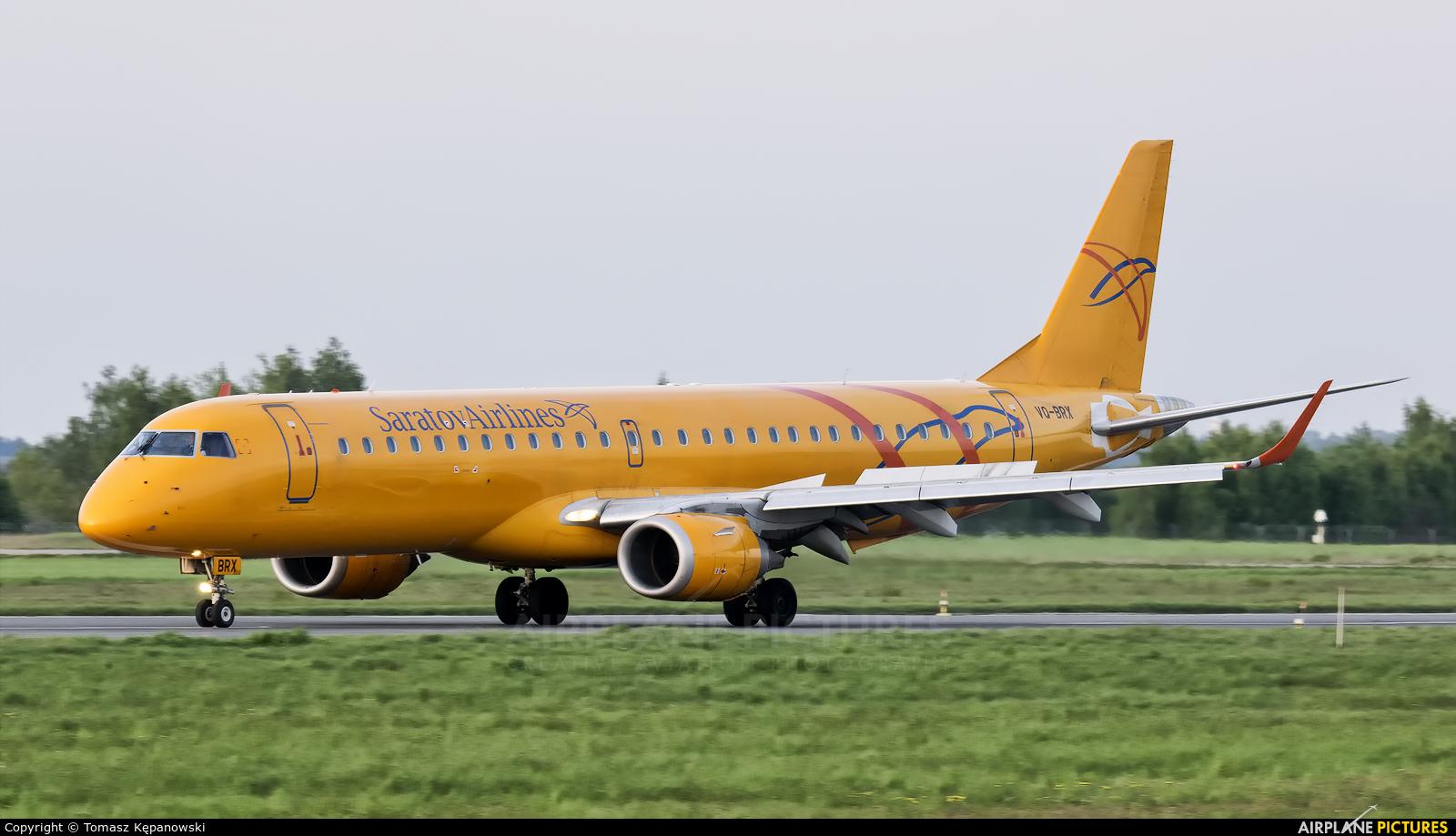 Saratov Airlines VQ-BRX aircraft at Rzeszów-Jasionka