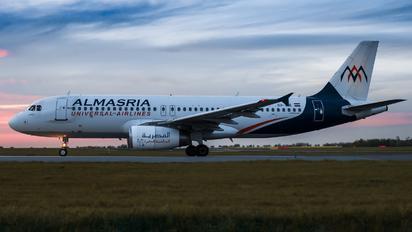 SU-TCE - Al Masria Airbus A320