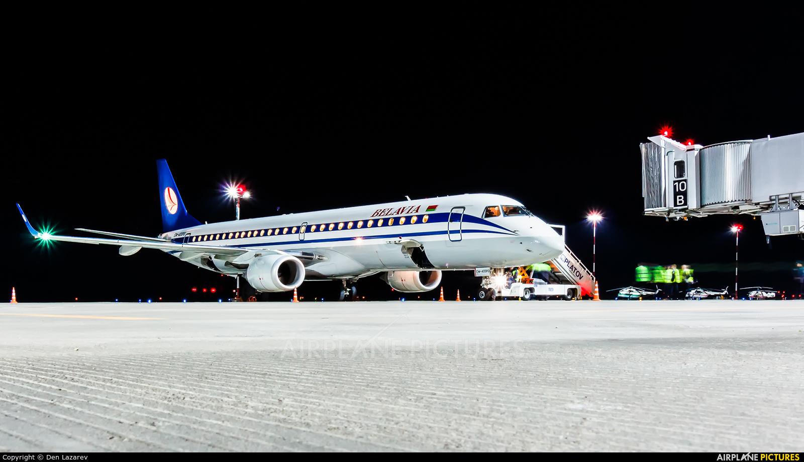 Belavia EW-400PO aircraft at Rostov-on-Don