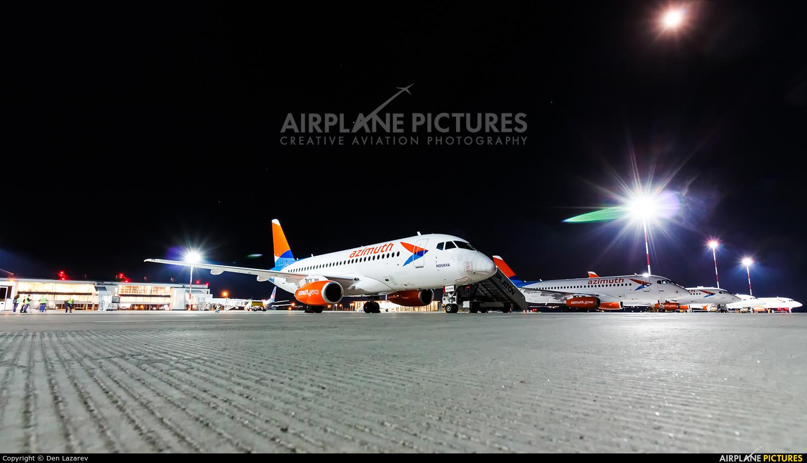 Azimuth RA-89096 aircraft at Rostov-on-Don