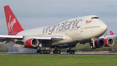 G-VLIP - Virgin Atlantic Boeing 747-400