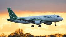 YI-ARD - Iraqi Airways Airbus A320 aircraft