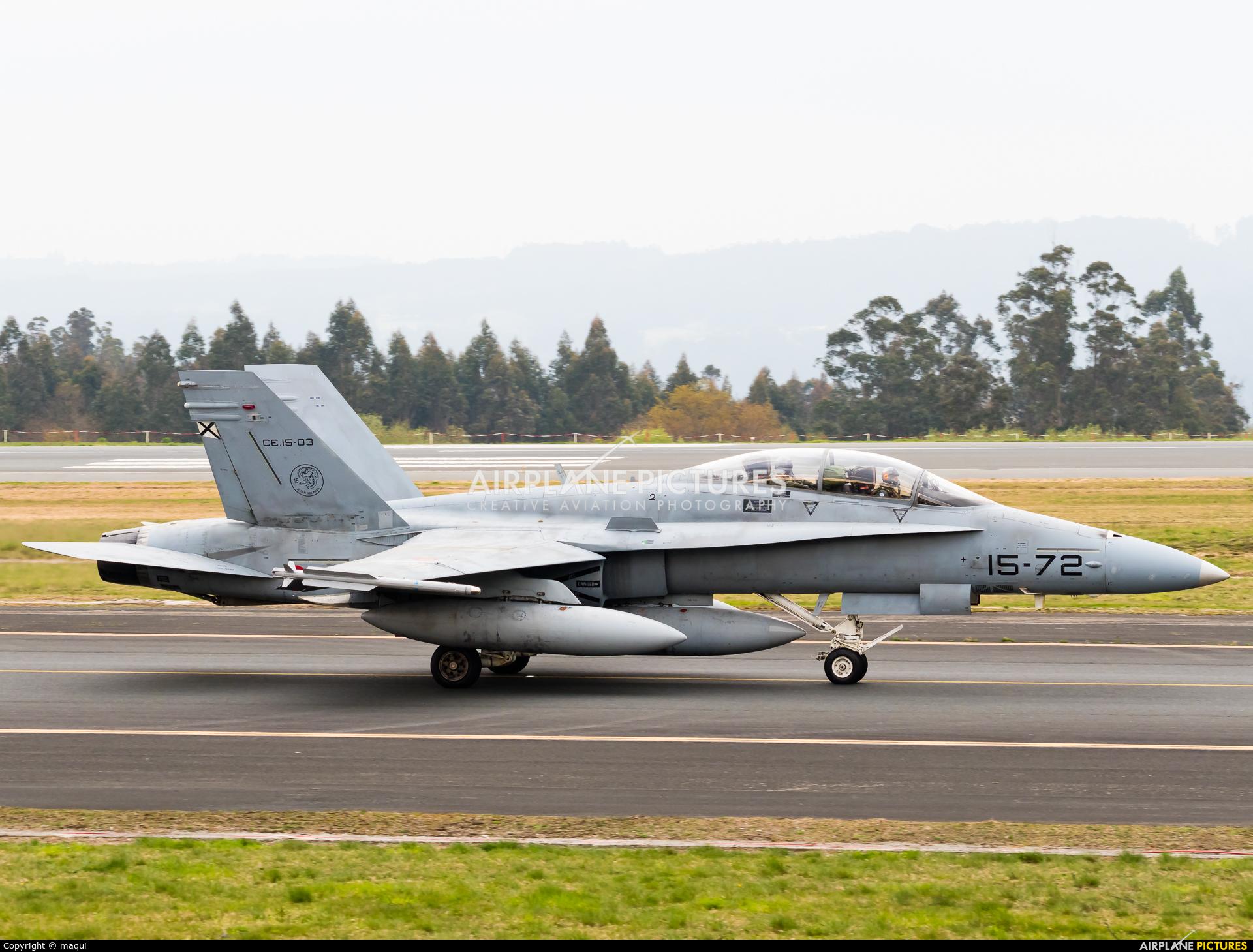 Spain - Air Force CE.15-03 aircraft at Santiago de Compostela