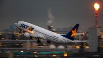 JA73NE - Skymark Airlines Boeing 737-800 aircraft