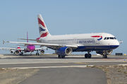 G-GATR - British Airways Airbus A320 aircraft