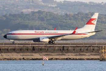 PK-GFM - Garuda Indonesia Boeing 737-800