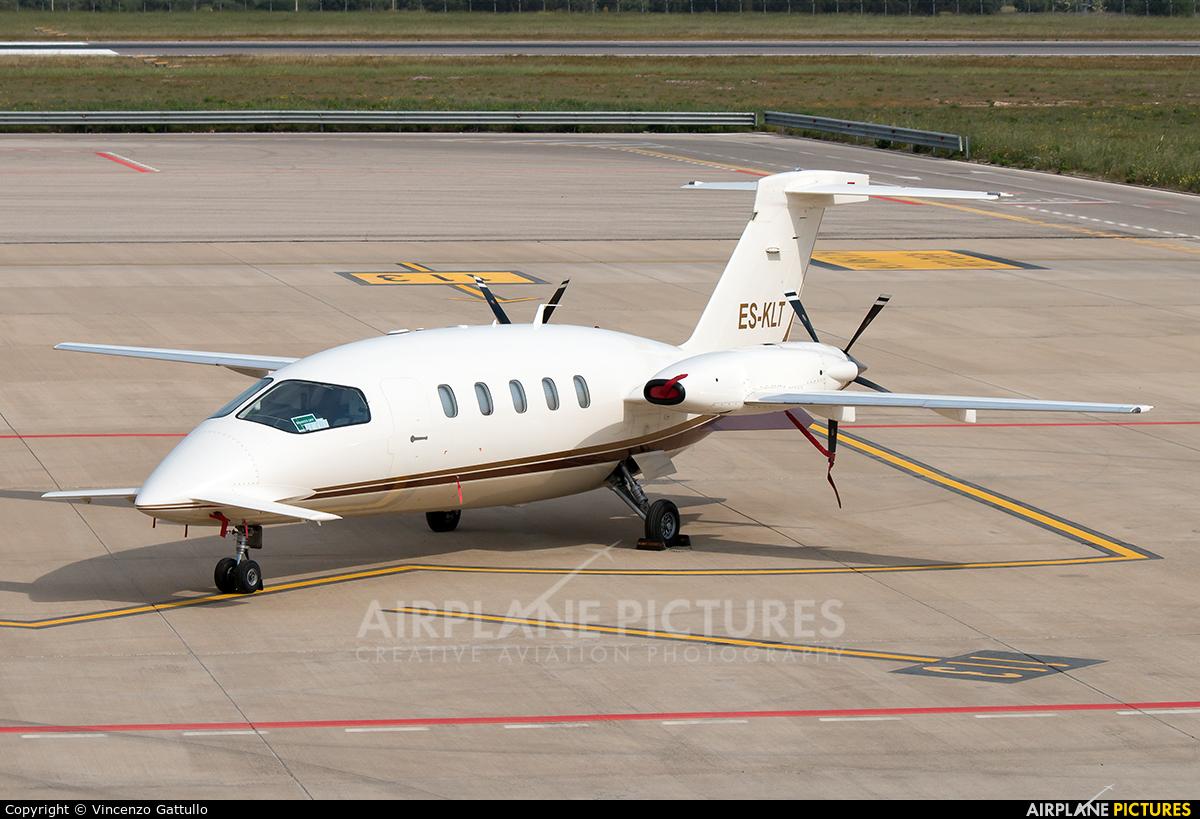 Private ES-KLT aircraft at Bari