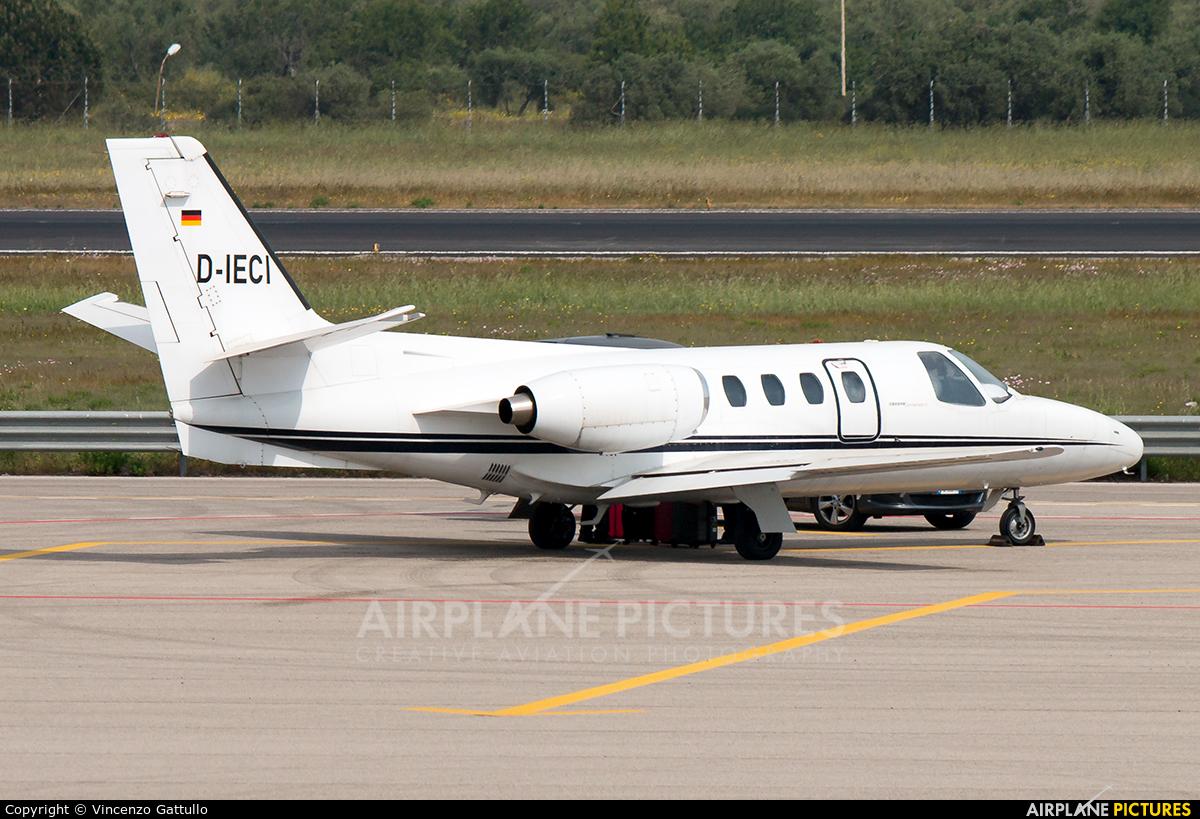 Private D-IECI aircraft at Bari