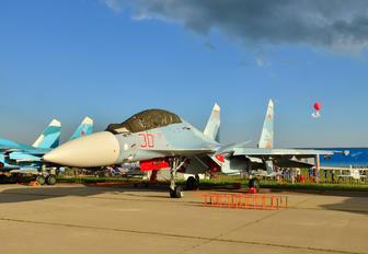 RF-81698 - Russia - Air Force Sukhoi Su-30SM
