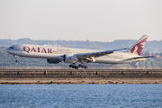 A7-BAW - Qatar Airways Boeing 777-300ER aircraft