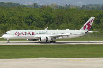 A7-ALU - Qatar Airways Airbus A350-900