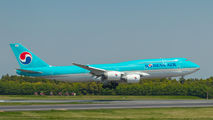 HL7644 - Korean Air Boeing 747-8 aircraft