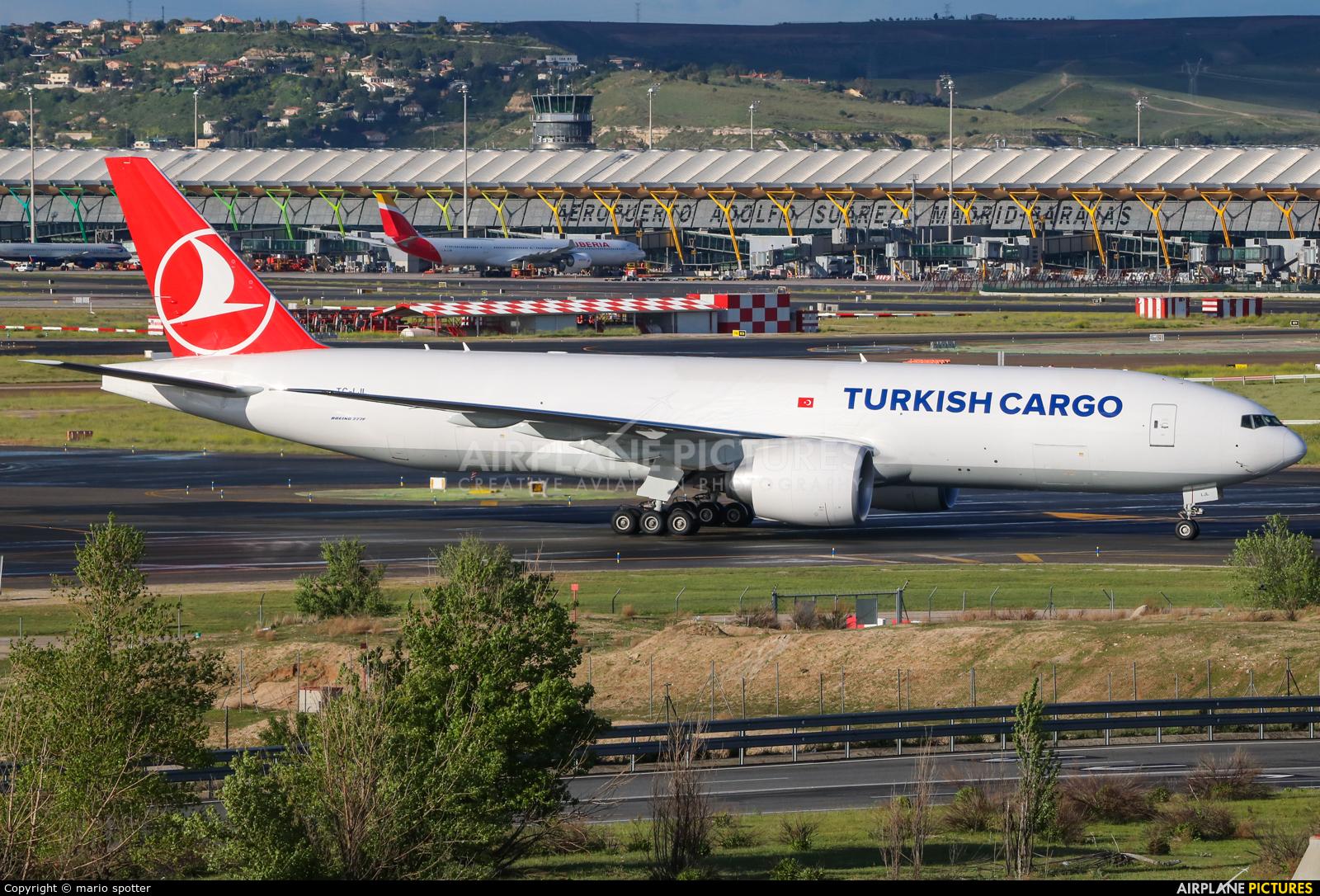 Turkish Cargo TC-LJL aircraft at Madrid - Barajas