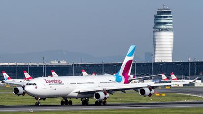OO-SCX - Eurowings Airbus A340-300