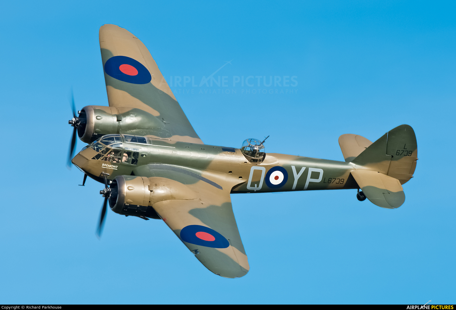 Flying Legends G-BPIV aircraft at Old Warden