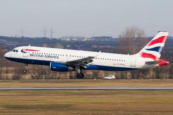 G-EUUZ - British Airways Airbus A320
