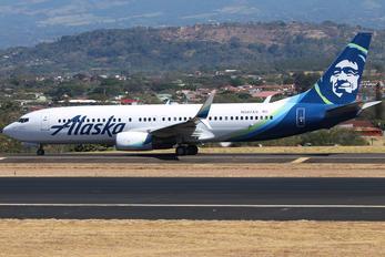 N587AS - Alaska Airlines Boeing 737-800